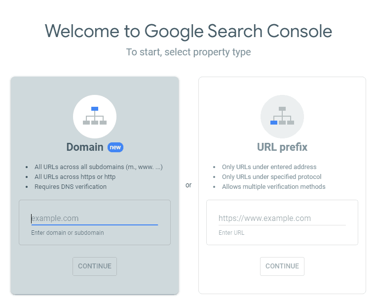 google-search-console-login
